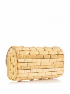 Heidi Klein Savannah Bay Bamboo Clutch Bag