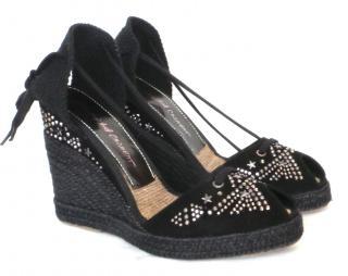Jean-Michel Cazabat espadrille wedge sandals
