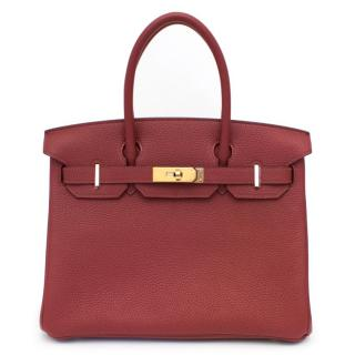 Hermes Garance Togo Leather 30cm Birkin