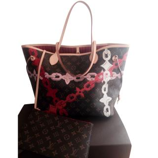 8725718845c Louis Vuitton Neverfull Limited Edition Tote
