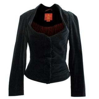 Vivienne Westwood Red Label Black Velvet Jacket