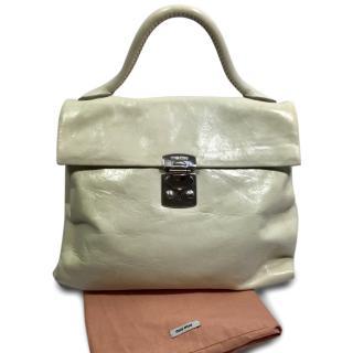 Miu Miu Cream Handbag