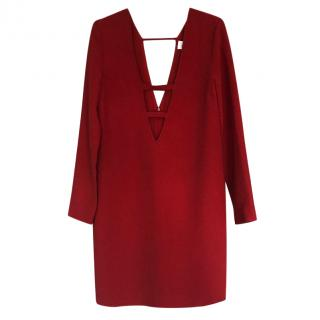 Victoria Beckham Red Dress