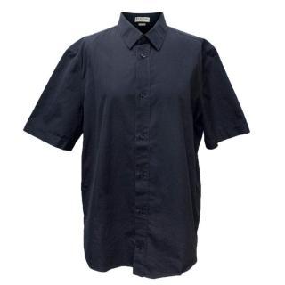 Balenciaga Mens Navy Shirt
