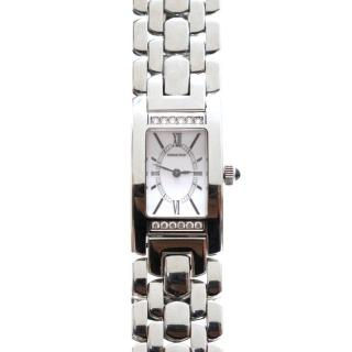 Audemars Piguet Promesse Diamond Stainless Steel Watch