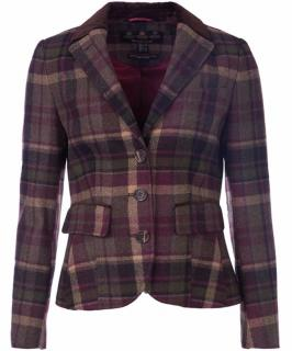 Barbour Fell Ladies Tailored Wool Jacket Size 10