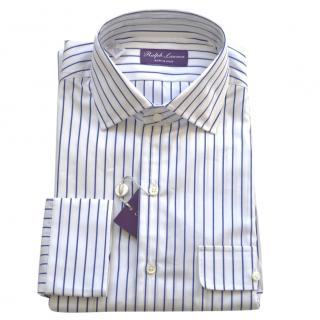 Ralph Lauren Purple Label striped cotton shirt