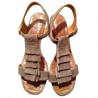 Chie Mihara nude sandals