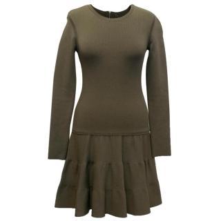 Barbara Bui Khaki Dress