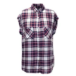 Rails Sleeveless Check Shirt