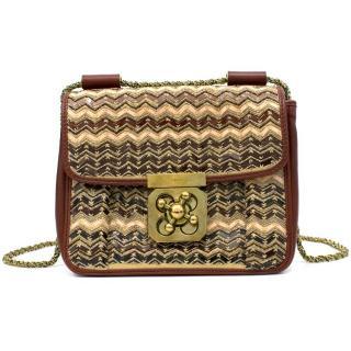 Chloe Burgundy Shoulder Bag