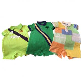 Ralph Lauren Boys Rompers Set