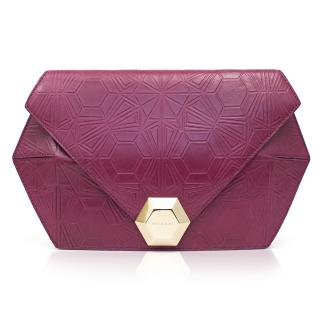Matthew Williamson For Bvlgari Pink Clutch Bag
