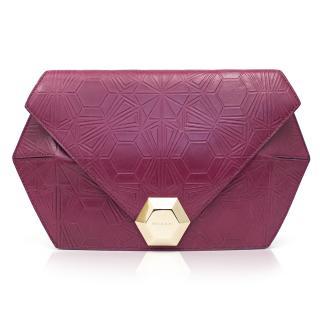 Matthew Williamson For Bvlgari Pink Clutch Bag