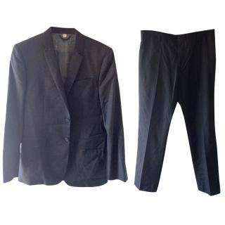 Burberry Charcoal Grey Suit