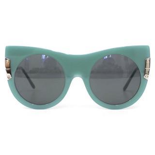 Stella McCartney Blue Cat Eye Sunglasses