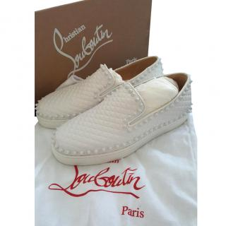 Louboutin Pik Boat Shoes