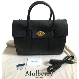 Mulberry Small New Bayswater Black Small Classic Grain