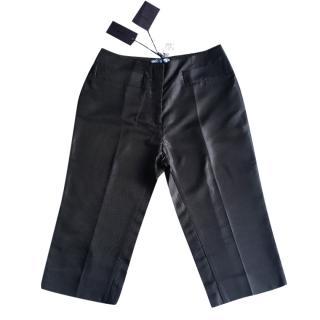 Prada Silk Shorts