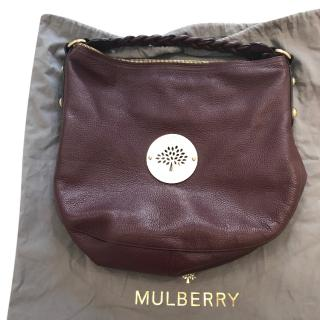 Mulberry Oxblood Daria Hobo