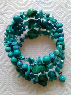 DOLCE & GABBANA turquoise bracelet
