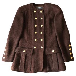 Chanel Brown Tweed Jacket