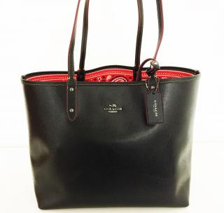 Coach Model Disney Mickey Mouse Reversible Tote