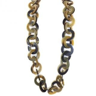 YSL Resin Link Necklace