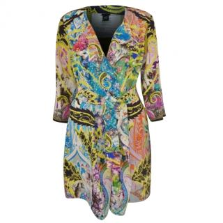 Etro print silk jacket