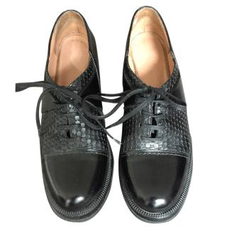 Robert Clergerie Black Brogues
