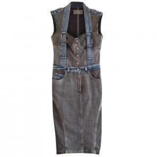 McQ Alexander McQueen Denim Dress