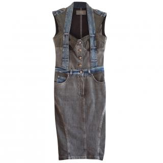 McQ Alexander McQueen Denim Dress