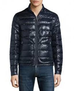 MONCLER Acorus Navy Blue Men's Jacket