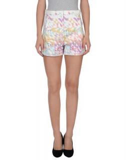 Tibi Geometric Print Shorts