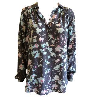 Rebecca Taylor flowery shirt