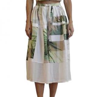 Tibi Patterned Skirt