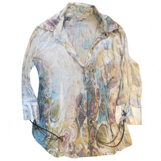 Roberto Cavalli silk summer shirt