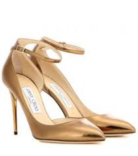 Jimmy Choo Lucy pumps Bronze metallic UK 5.5 EU 38.5