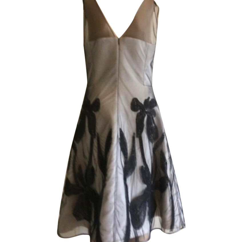 Halston heritage evening dress