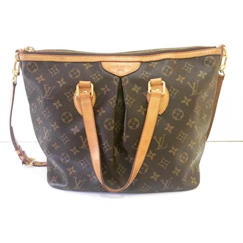 LOUIS VUITTON Monogram Palermo PM Strap Handbag