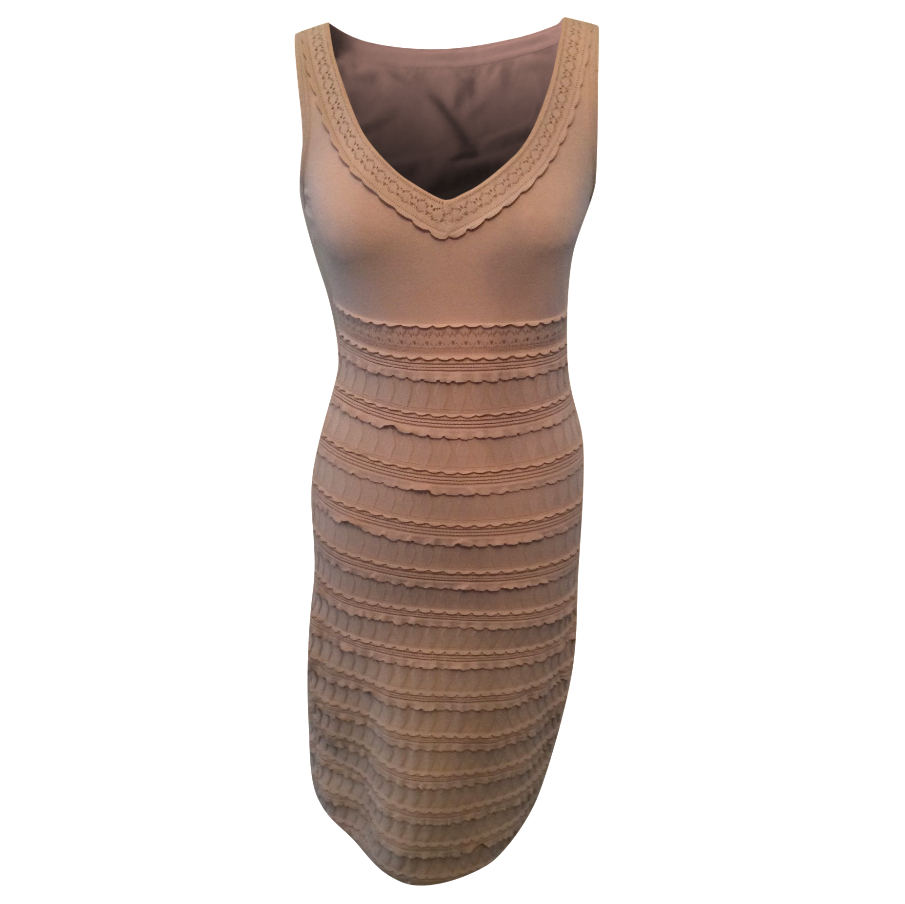 Alaia nude dress French Size 38