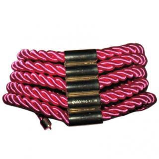 Dyrberg/Kern silk rope choker