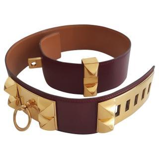 Hermes Vintage Collier De Chien Belt