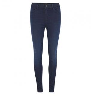 J Brand High Rise Dark Blue Skinny Jeans