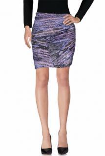 See By Chloe Purple Knee Length Skirt