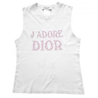 Dior pink monogram t-shirt