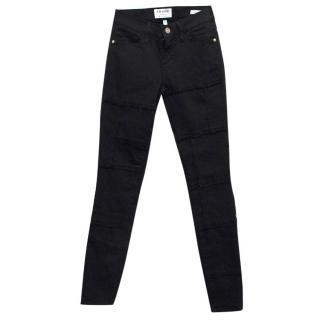Frame Black Denim Skinny Jeans