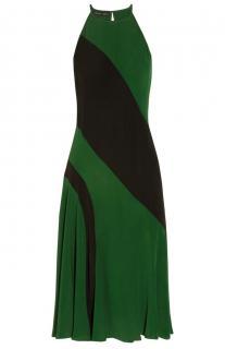 Jonathan Saunders Black And Green Antonia Dress