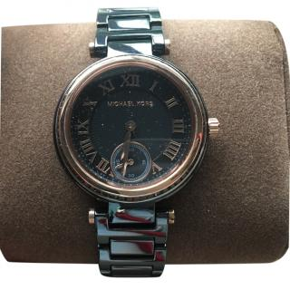 Michael kors watch black ceramic