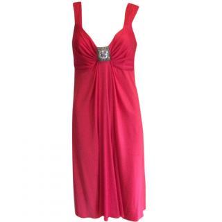 Bluemarine pink cocktail dress